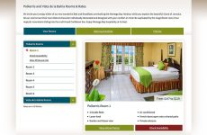 Polkerris Bed & Breakfast - Rooms Overview