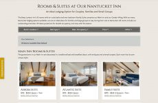 Brass Lantern Nantucket - Rooms Overview