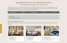 Brass Lantern Nantucket - Rooms Overview