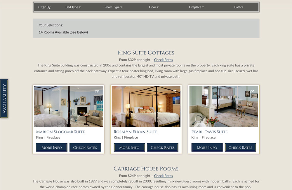 Hampton terrace inn partners with white stone marketing for Terrace homepage