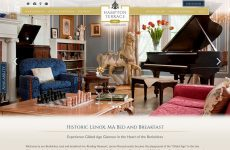 Hampton Terrace Website Design