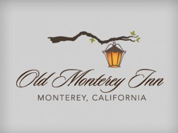 Old Monterey Inn Logo - custom logo by White Stone Marketing