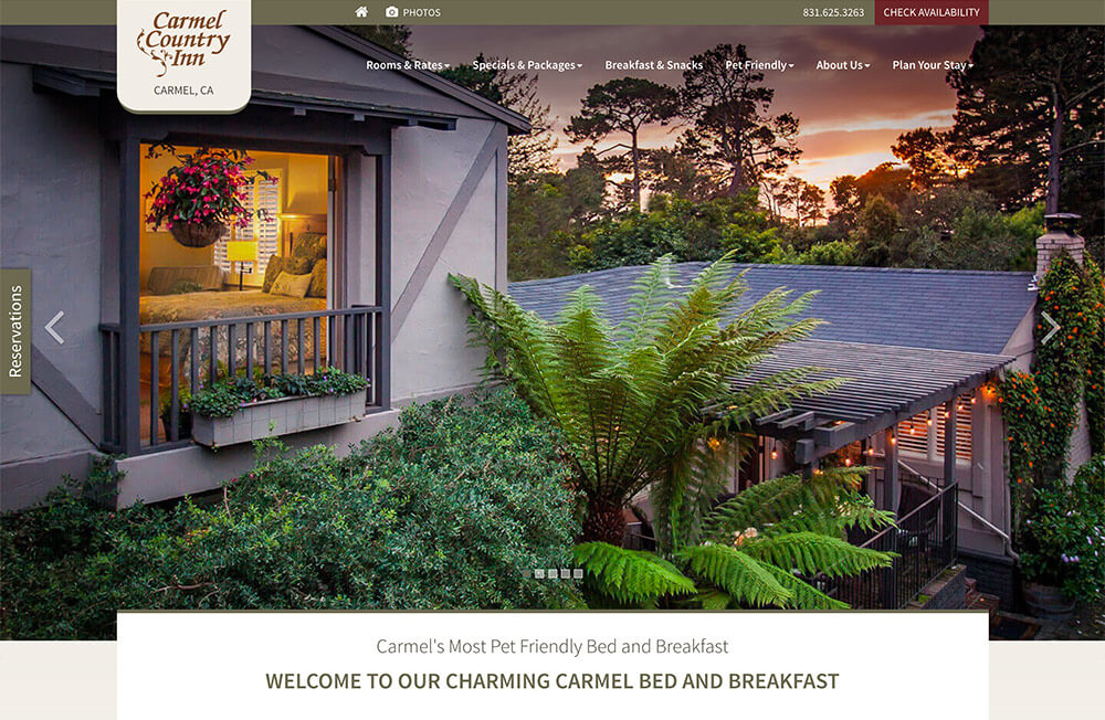 Carmel Country Inn Hires A Bed And Breakfast Marketing Company
