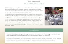 Colt's Lodge Template - Weddings