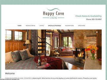An interim website for while White Stone is developing a custom design