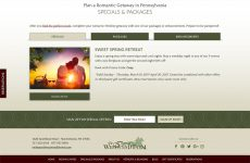 The Inn at Westwynd Farm - Website Design