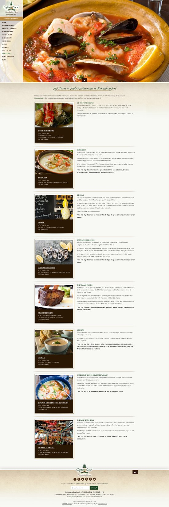 Best Restaurants in Kennbunkport
