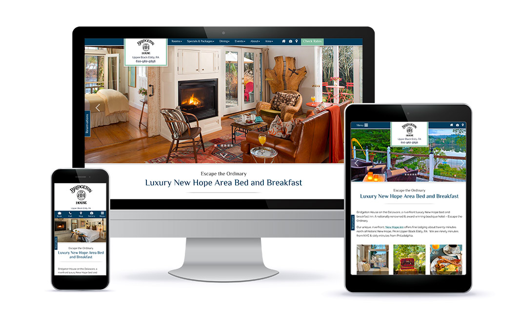 Bridgeton House Website Design