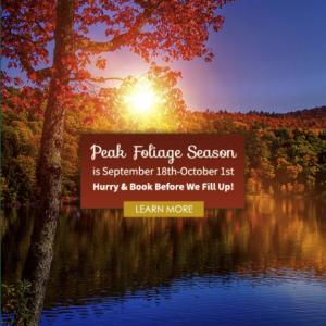 Marketing Fall Foliage