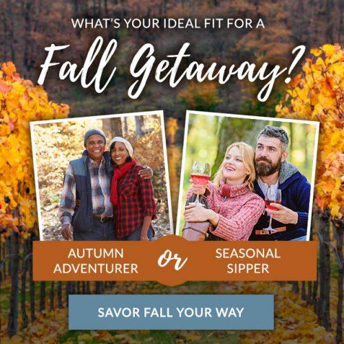 fall getaway quiz