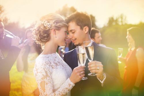 Wedding Venue Selection - Bride and Groom at a Venue
