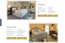 Deerfield Inn - Premium Template Website
