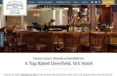 Deerfield Inn - Premium Template Website