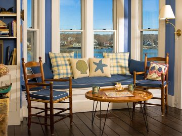 Interiors at Dockside Guest Quarters