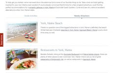 Dockside Guest Quarters - Premium Template Website