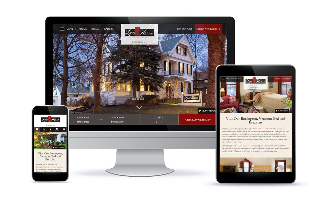 Lang House - Premium Template Website