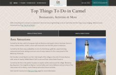 Carmel Stonehouse - Premium Template Website