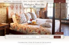 Washington House Inn - Custom Website Design