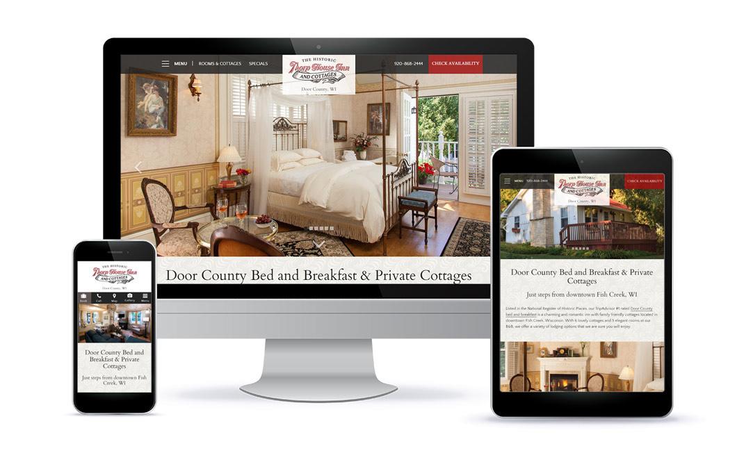 Thorp House Inn - Premium Template Website