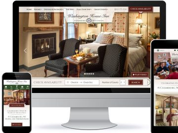 Bed and Breakfast Website-Across Platforms