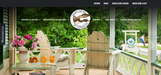 Squam Lake Inn-Website Design