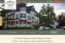 Pentagoet Inn - Premium Template Website