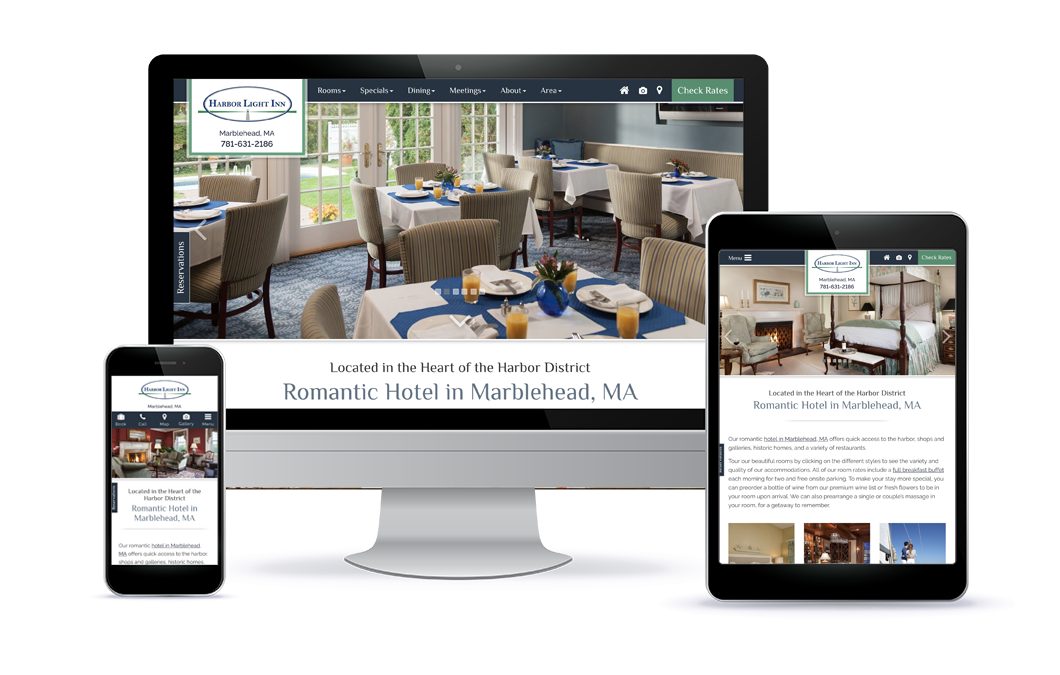 Harbor Light Inn - Premium Template Website