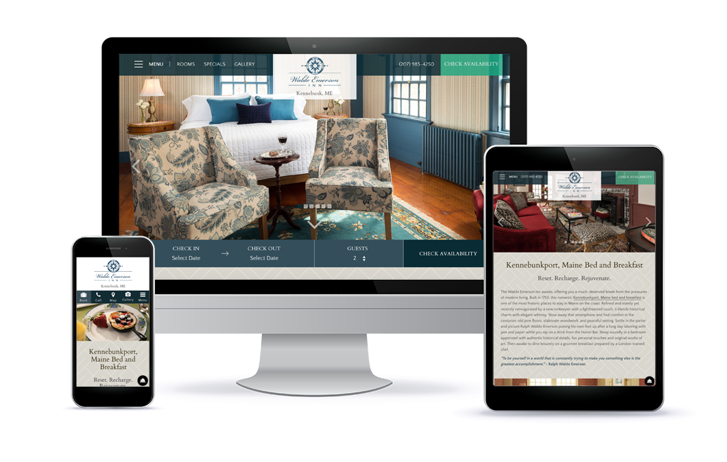 Waldo Emerson Inn - Premium Template Website