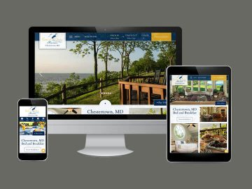 Responsive Design for Great Oak Manor