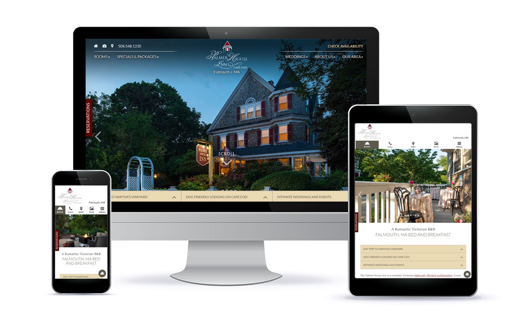 Palmer House Inn - Premium Template Website