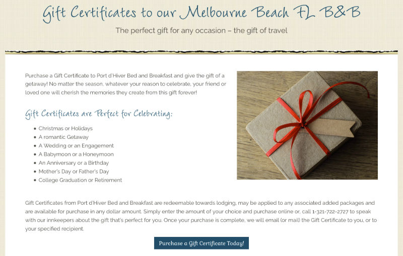 The Best Valentine S Day Gift Ideas Gift Certificates To An Inn