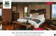 Premium Template Website Design for Holualoa Inn