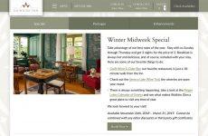 Idlwilde Inn Winter Midweek Special