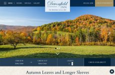 Autumn Leaves and Longer Sleeves at Devonfield Inn