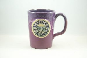 the Deneen pottery Grand Canyon mug red version