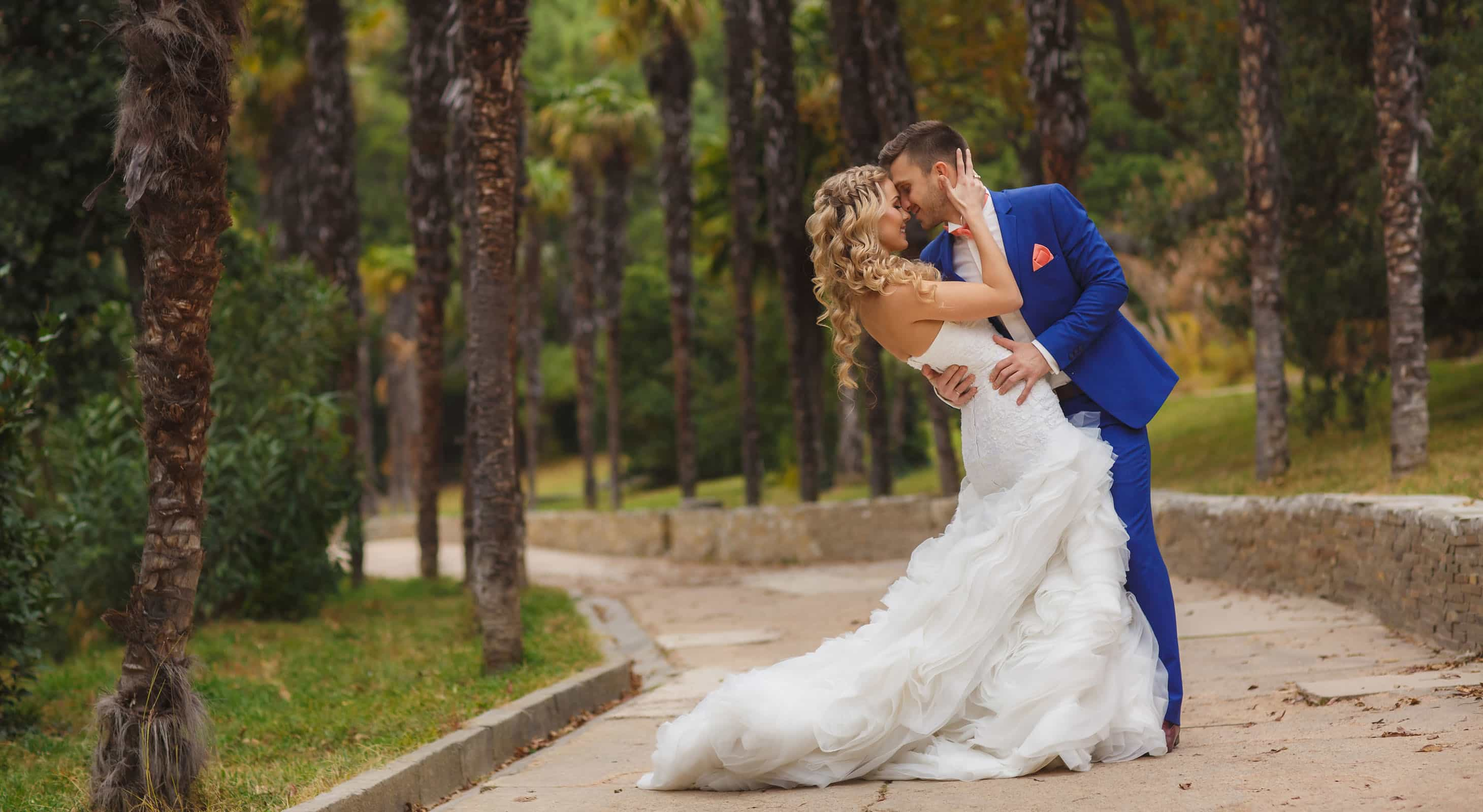 How to market a wedding business - lovely couple