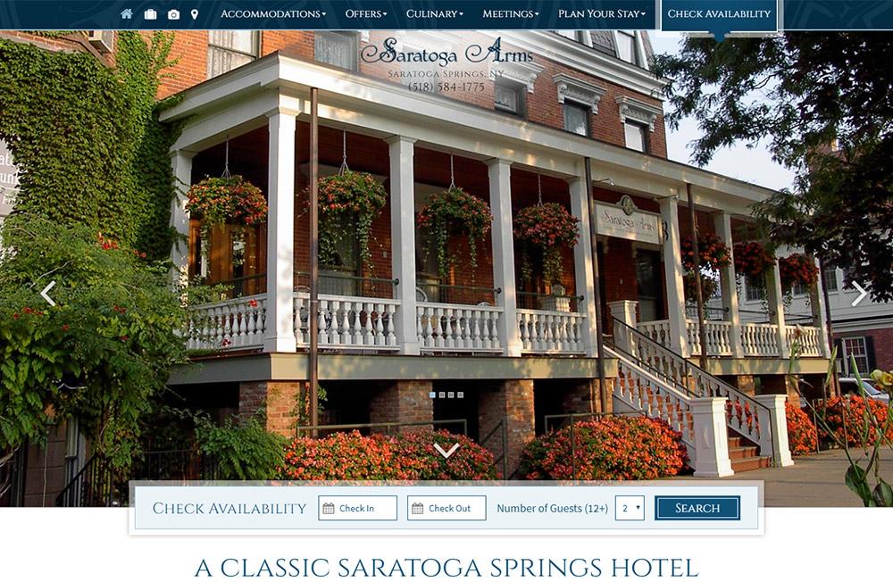 Custom Design - Saratoga Arms