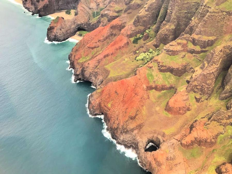 Helicopter Tour Kauai - Ariel View