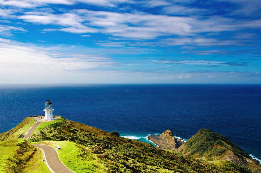 Stunning New Zealand Lighthouse