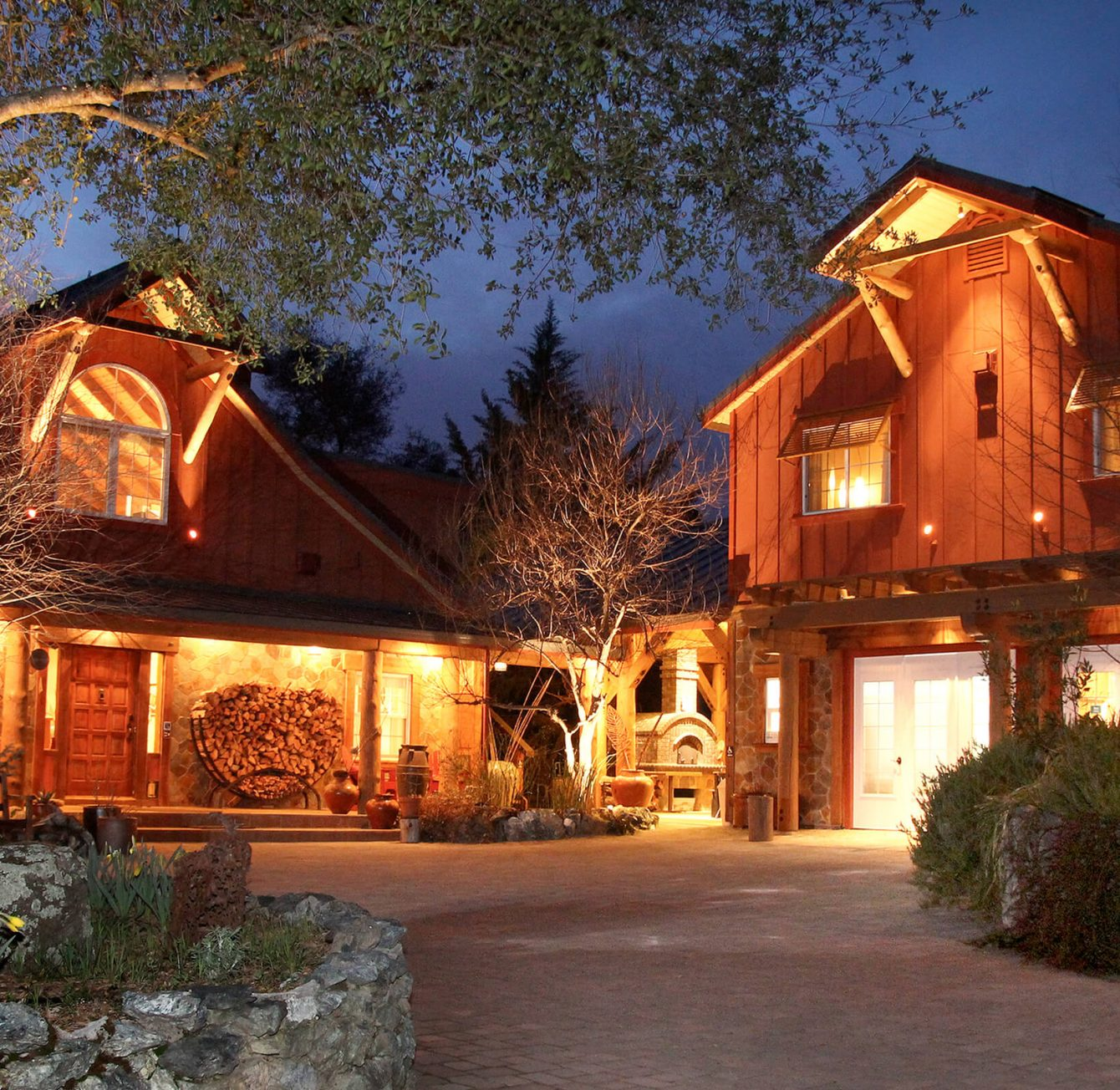 Rustic and elegant northern California bed and breakfast