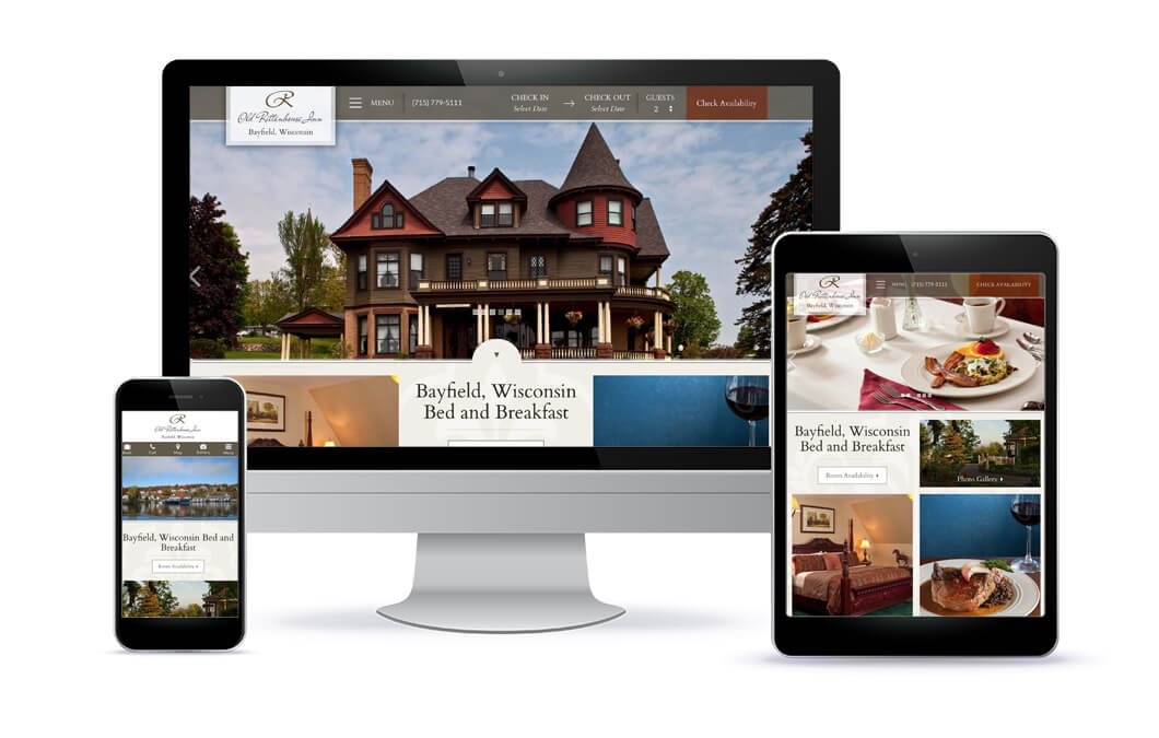 Old Rittenhouse Inn Website Portfolio