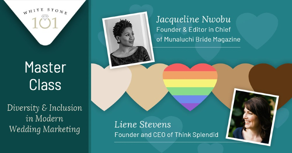 Invitation to class on diversity in wedding marketing