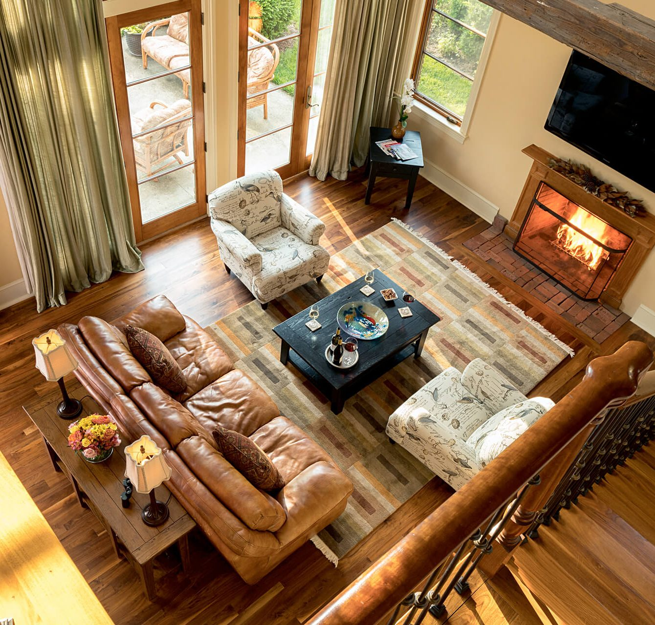 Interior view of cottage at Maryland vacation rental