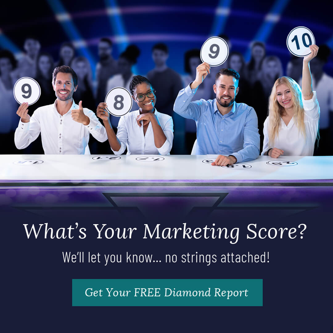 What's your Marketing Score. We'll let you know.