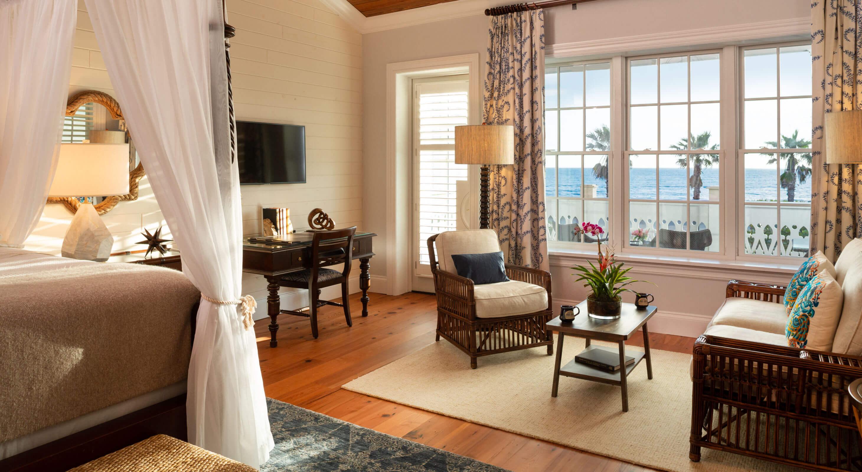 Website Designs by White Stone Marketing - luxury florida hotel room