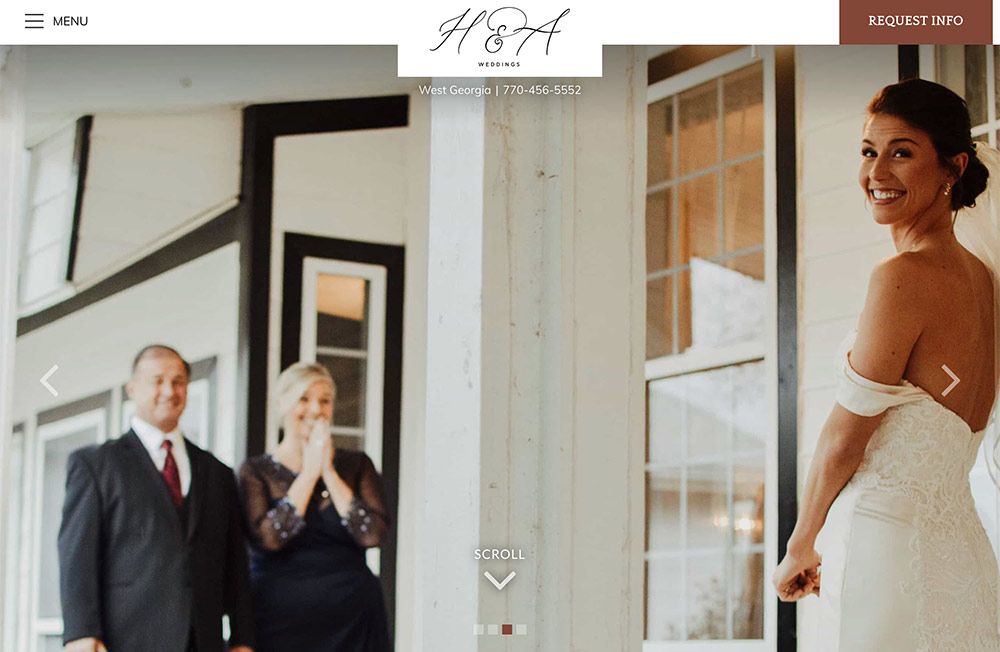 H&A Weddings - home page