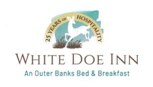White Doe Inn logo for bed and breakfast branding