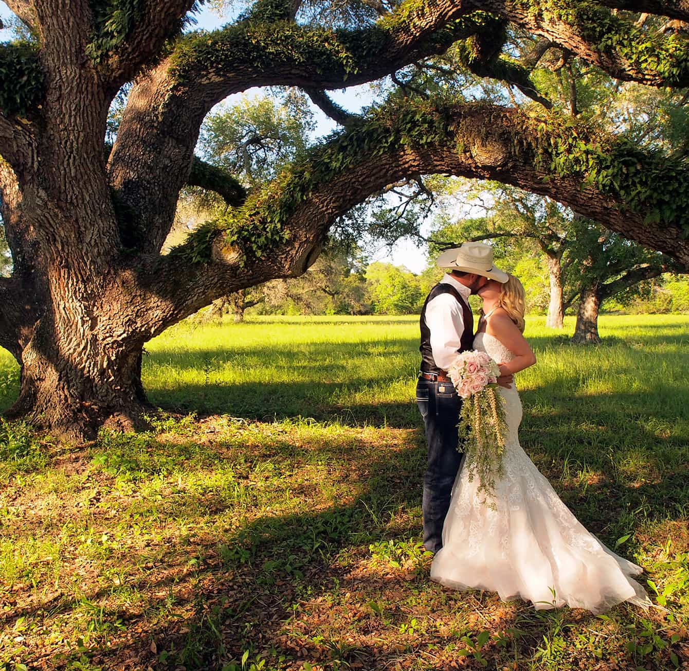 Wedding at BlissWood Bed and Breakfast Ranch